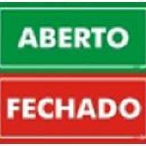 Aberto Fechado (Frente e Verso) - PS-507FV