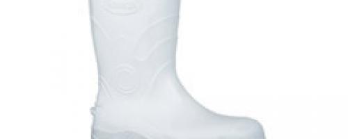 Bota de PVC Flex Branca